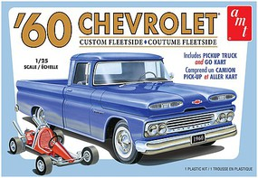1/25 1960 Chevy Custom Fleetside Pickup Truck w/Go Kart