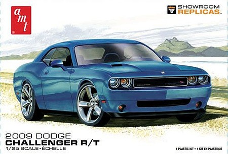 AMT 2009 Dodge Challenger R/T Plastic Model Car Kit 1/25 Scale #1117