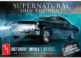 AMT 1967 Impala, Supernatural Plastic Model Car Kit 1/25 Scale #1124