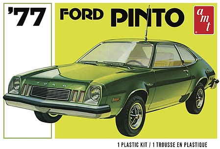 AMT 1977 Ford Pinto 2T Plastic Model Car Kit 1/25 Scale #1129