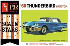 AMT 1960 Ford Thunderbird Plastic Model Car Kit 1/32 Scale #1135