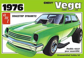 AMT NYA 1976 Chevy Vega Funny Car Plastic Model Car Kit 1/25 Scale #1156