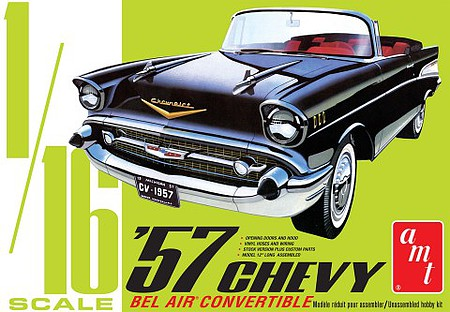 AMT 1957 Chevy Bel Air Conv 1-16