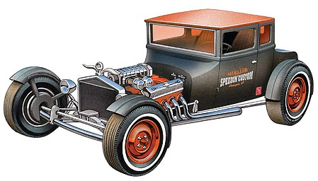 AMT 1925 Ford T Chopped Plastic Model Car Kit 1/25 Scale #1167