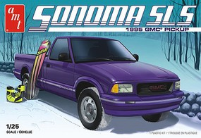 AMT 1995 GMC Sonoma Pick Up, 2T Plastic Model Truck Kit 1/25 Scale #1168m