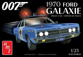 AMT '70 Ford Galaxie Police Car Bond 1-24