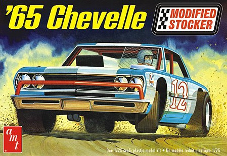 AMT 65 Chevelle Modified Stocker 1-25