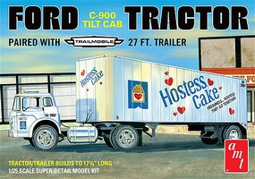 AMT Ford C600 Hostess Truck w/Trailer 1-25