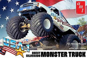 AMT USA-1 Chevy Silverado Monster Truck 1-25