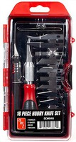 AMT 16pc Hobby Knife Set