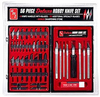 AMT 56 Piece Deluxe Hobby Knife Set