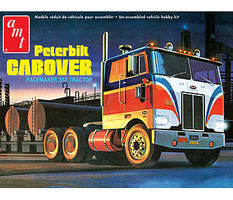 AMT Peterbilt Cabover Pacemaker Plastic Model Truck Kit 1/25 Scale #759