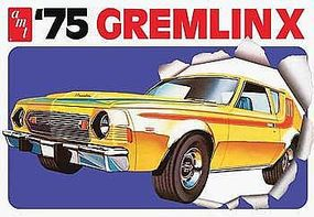 AMT 1975 Gremlin X Plastic Model Car Kit 1/25 Scale #768