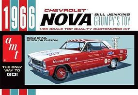 AMT 1966 CHEVY NOVA Bill Jenkins - Plastic Model Car Kit #772