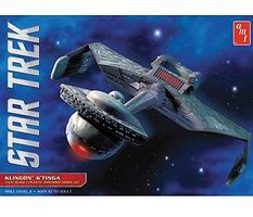 AMT STAR TREK KLINGON KTINGA Science Fiction Plastic Model Kit #794
