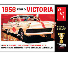 AMT 1956 Ford Victoria Plastic Model Car Kit 1/25 Scale #807
