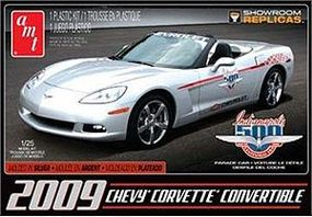 AMT 2009 CORVETTE INDY PARADE Plastic Model Car Kit 1/25 Scale #814