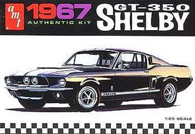 AMT 1967 Shelby GT350 Car (Black) Plastic Model Car Truck Vehicle Kit 1/25 Scale #834