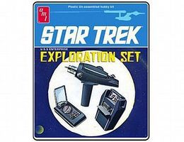 AMT STAR TREK EXPLORATION SET Science Fiction Plastic Model Kit #848