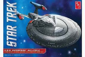AMT Star Trek USS Enterprise 1701E Science Fiction Plastic Model Kit 1/1400 Scale #853
