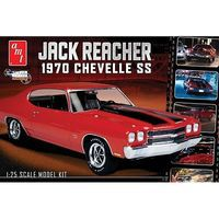 AMT Jack Reachers 1970 Chevy Chevelle SS Plastic Model Car Kit 1/25 Scale #871