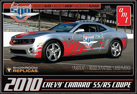 AMT/ERTL 1/25 2010 Chevy Camaro RS/SS Coupe -- Plastic Model Car Kit -- 1/25 Scale -- #893