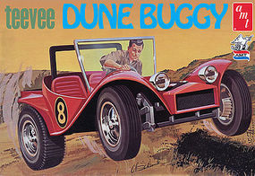 AMT Tee Vee Dune Buggy Plastic Model Car Kit 1/25 Scale #907