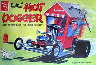AMT 1/25 Lil Hot Dogger Show Rod Plastic Model Car Kit 1/25 Scale #908