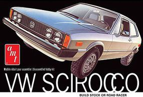 AMT VW Scirocco Sports Car Plastic Model Car Kit 1/25 Scale #925