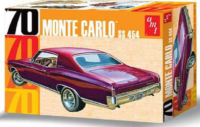 Amt 1970 Chevy Monte Carlo Plastic Model Car Kit 1 25 Scale 928