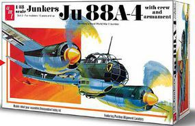 AMT JUNKERS Ju88A4 Plastic Model Airplane Kit 1/48 Scale #933