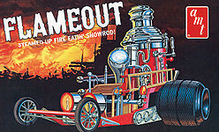 AMT Flameout Show Rod Plastic Model Vehicle Kit 1/25 Scale #934
