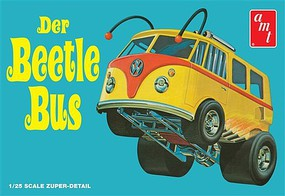 AMT Volkswagen Beetle Bus Van Show Rod Plastic Model Truck Kit 1/25 Scale #992