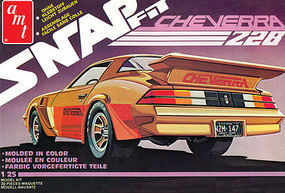 AMT Cheverra Custom 1980 Camaro Z28 Snap Plastic Model Car Kit 1/25 Scale #1007-12