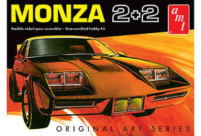 AMT 1977 Chevy Monza 2+2 Custom (Original Art) Plastic Model Car Kit 1/25 Scale #1019-12