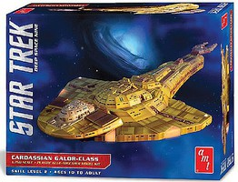 AMT Star Trek Cardassian Galor Class Science Fiction Plastic Model Kit 1/750 Scale #1028-12