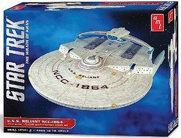 AMT Star Trek U.S.S. Reliant Science Fiction Plastic Model 1/537 Scale #1036-12