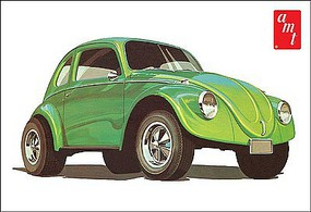AMT Volkswagen Beetle Superbug Gasser Plastic Model Car Kit 1/25 Scale #1044-12