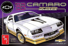 AMT 1983 Chevy Camaro Z-28 50th Anniversary Plastic Model Car Kit 1/25 Scale #1051