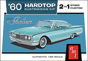 AMT 1960 Ford Starliner Plastic Model Car Kit 1/25 Scale #1055-12