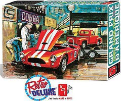 AMT Cobra Racing Team Shelby Cobra/53 Ford Plastic Model Car Kit 1/25 Scale #1073-06