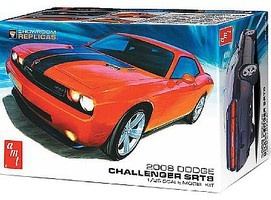 AMT 2008 Dodge Challenger SRT8 Plastic Model Car Kit 1/25 Scale #1075-12