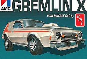 AMT 1974 AMC Gremlin X Plastic Model Car Kit 1/25 Scale #1077-12