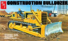 AMT Construction Bulldozer Plastic Model Tractor Kit 1/25 Scale #1086-06