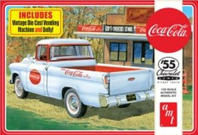 AMT 1955 Chevy Cameo Pickup (Coca-Cola) Plastic Model Car Kit 1/25 Scale #1094-12