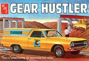 AMT 1965 Chevy El Camino Gear Hustler Plastic Model Car Kit 1/25 Scale #1096-12