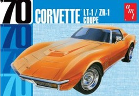 AMT 1970 Chevy Corvette Coupe Plastic Model Car Kit 1/25 Scale #1097-12