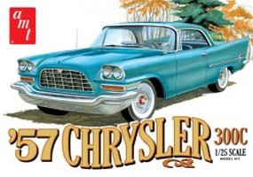 AMT 1957 Chrysler 300 Plastic Model Car Kit 1/25 Scale #1100-12