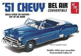 AMT 1951 Chevy Convertible Plastic Model Car Kit 1/25 Scale #608
