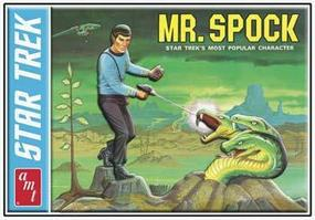 AMT Mr SPOCK LtdEd Tin Plastic Model Figure Kit 1/12 Scale #624